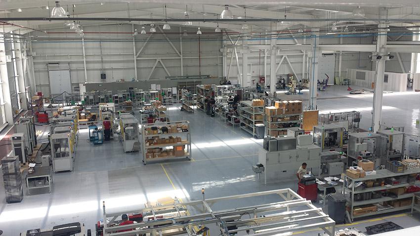 Mexico solar plant modules production